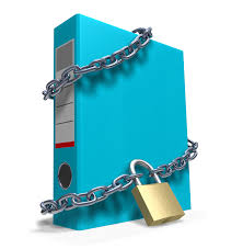 secure data files